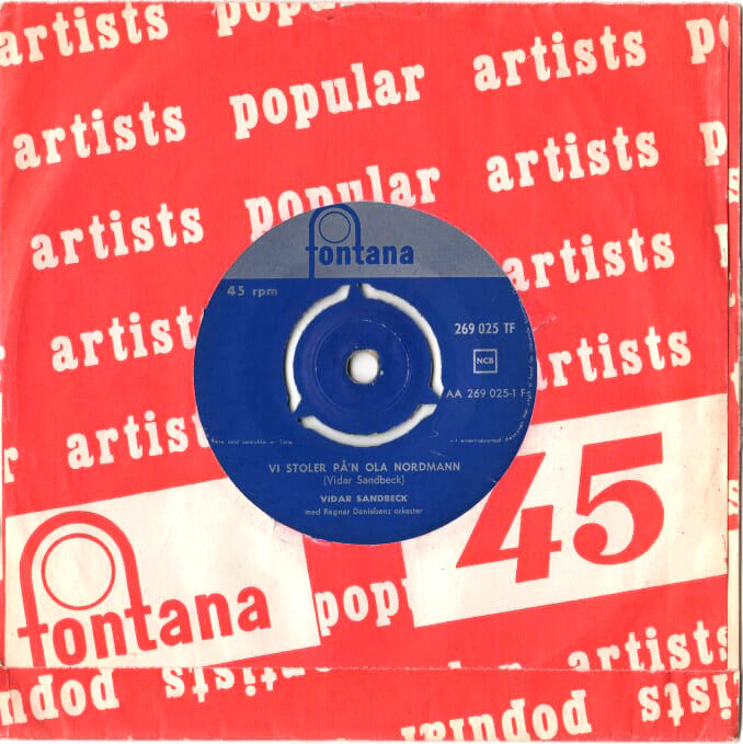 Vidar Sandbeck single nr. 12