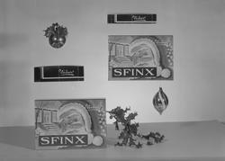 Sfinx konfekt fra Nidar Chokoladefabrik A/S
