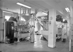 Produksjonslokaler hos Nidar Chokoladefabrik A/S