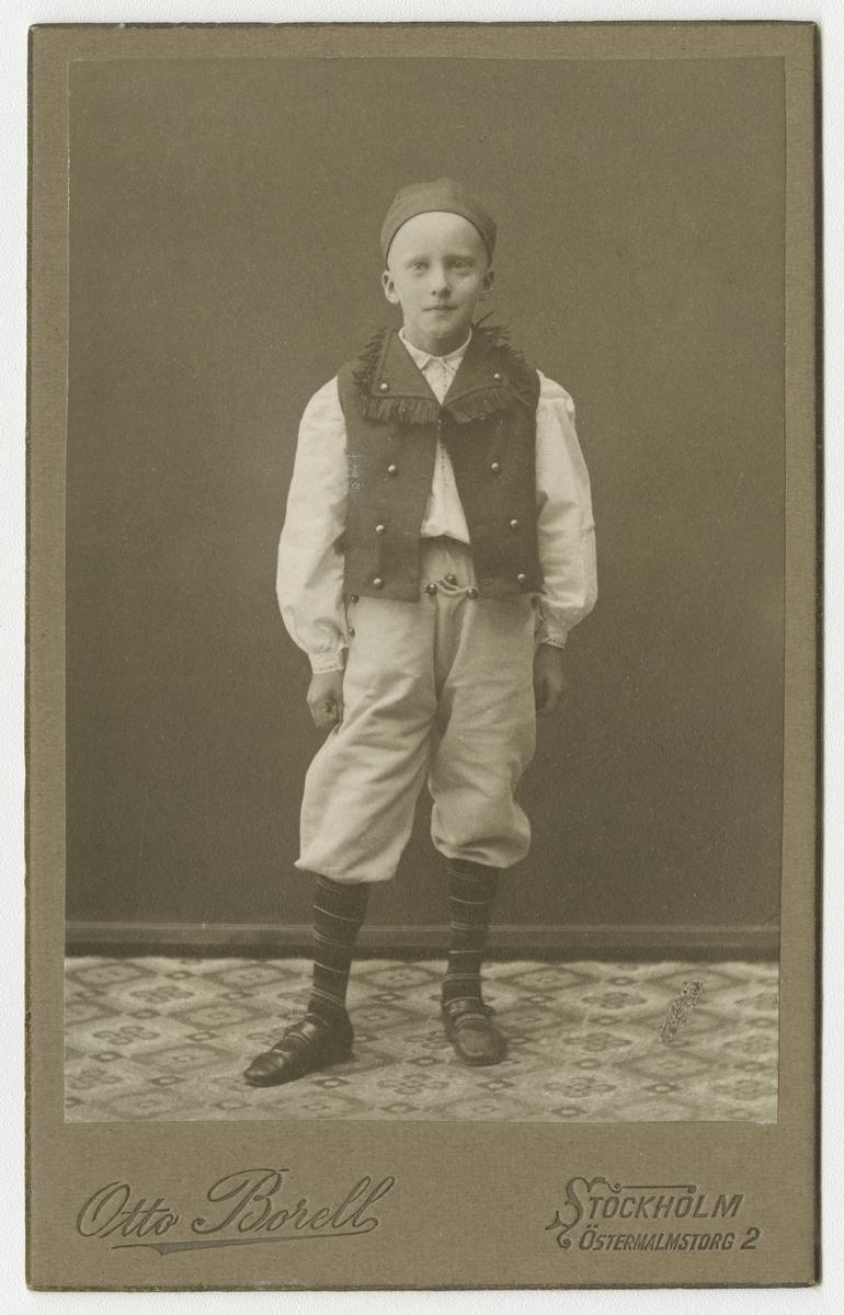 Porträtt av Bror Ivar Malmsten.
