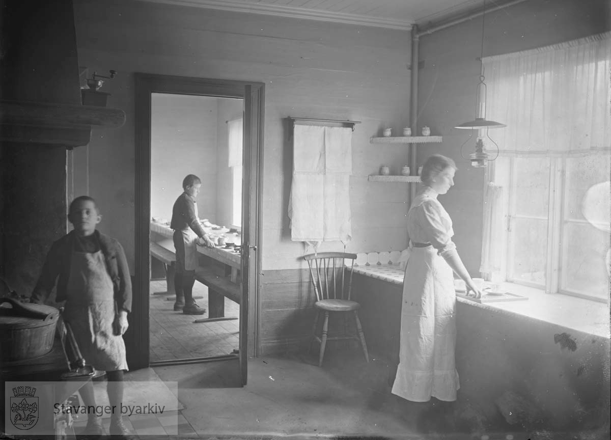 Kjøkken, Lindøy skole