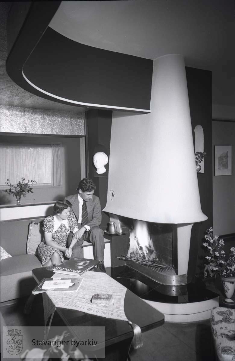 Fra hjemmet til arkitekt Brandsberg-Dahl