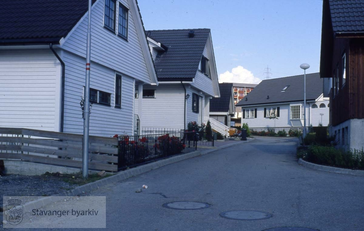 Individuelle boliger på små tomter