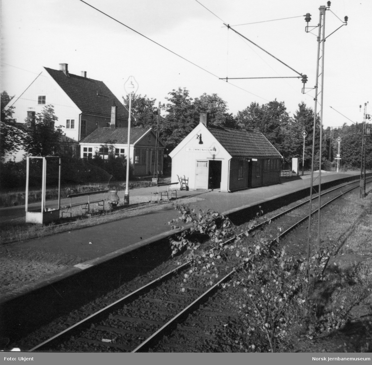 Blommenholm stasjon.