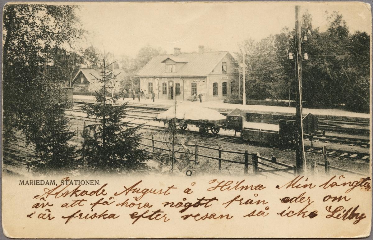 Mariedamm station.