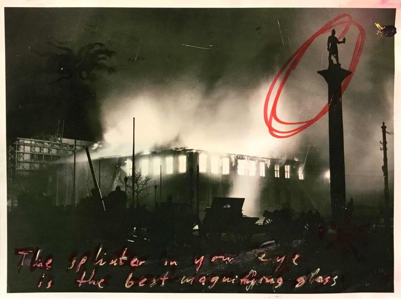 The Splinter in Your Eye. Archive photo, 1942/1979.  [Original: Alf Schrøder/Riksantikvaren]