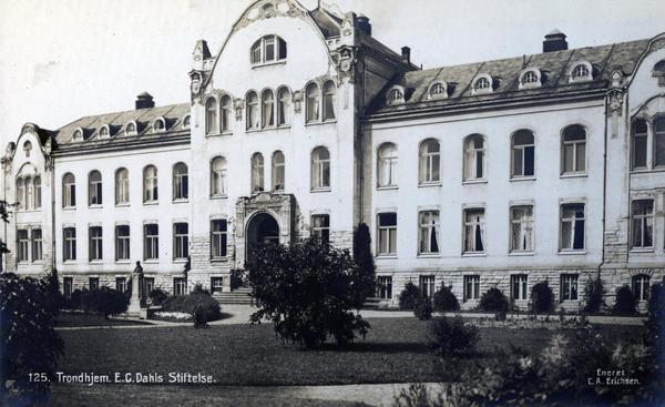 E. C. Dahls Stiftelse (ca. 1915). Foto/Photo