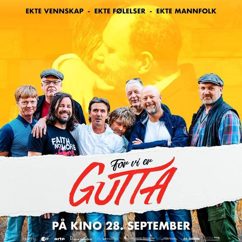 "Plakat for filmen ""For vi er gutta"" (Foto/Photo)"