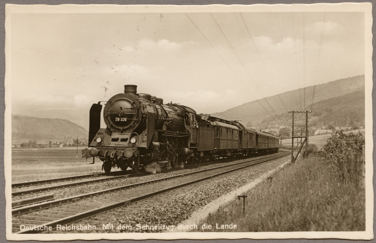 """""""Deutsche Reichsbahn, DR 39 236."""