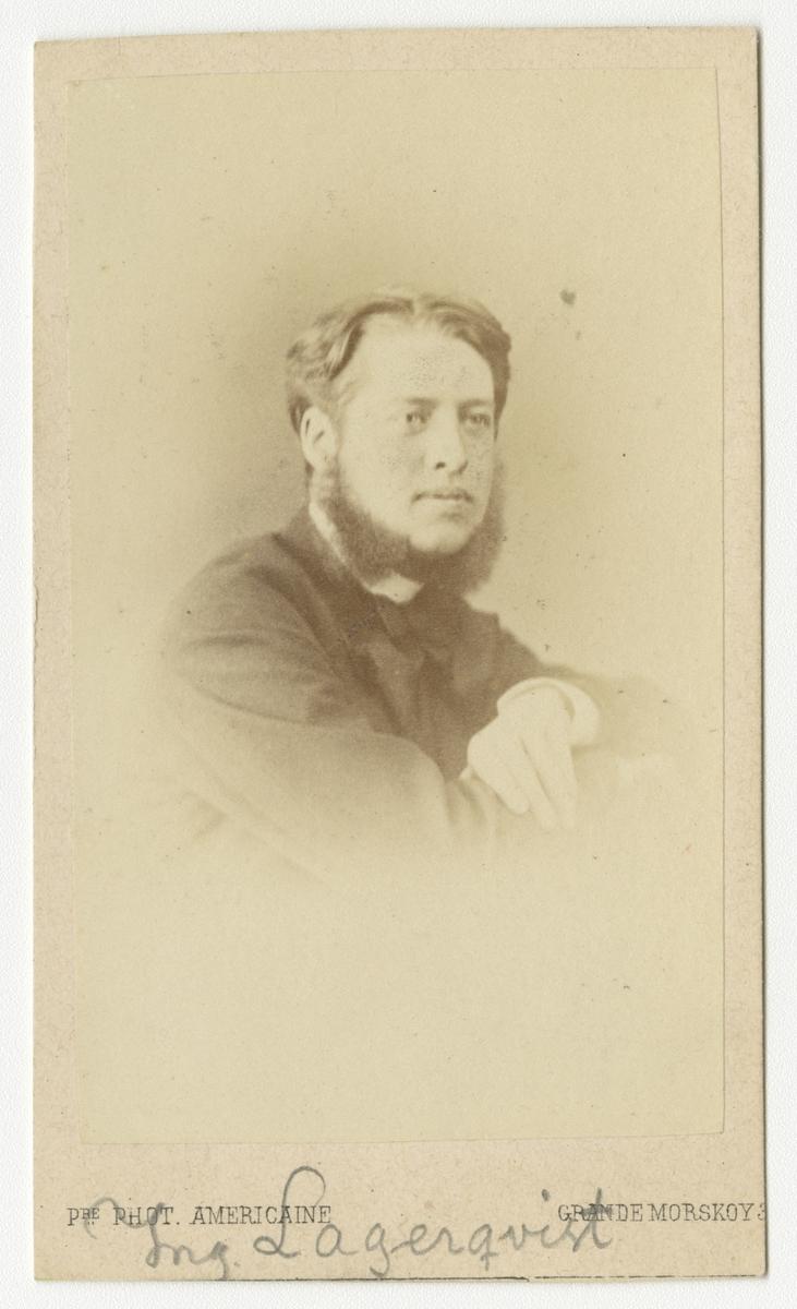Porträtt av ingenjör Lagerqvist.