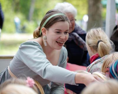 Helene Herskapsfrøken, familietilbud for barn på Bogstad Gård