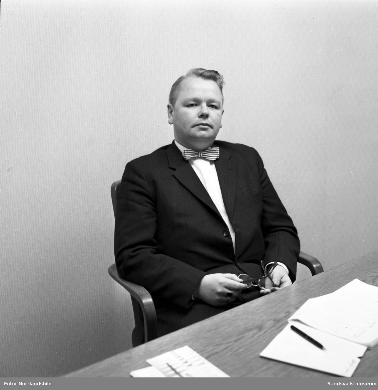 Direktör Olof Lindbäck vid SDC, Skogsbrukets datacentral.