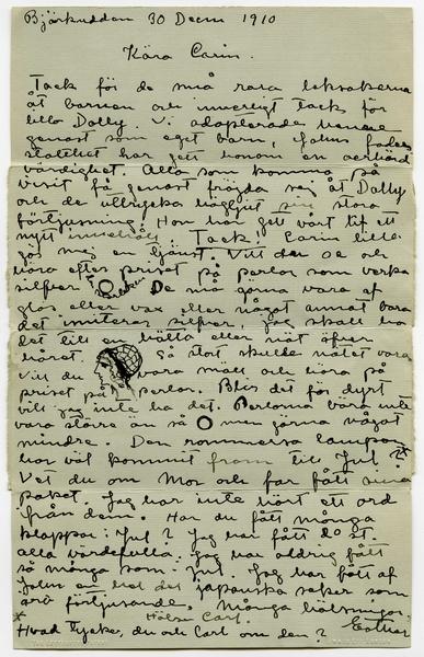 Eksempel på første dating brev