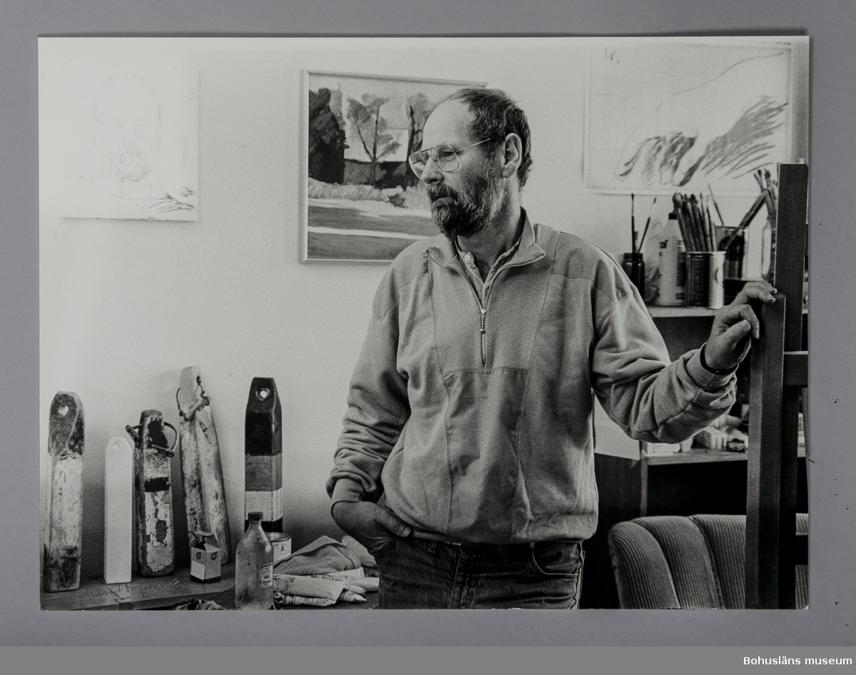 Fotografiskt porträtt Vladimir Petersson