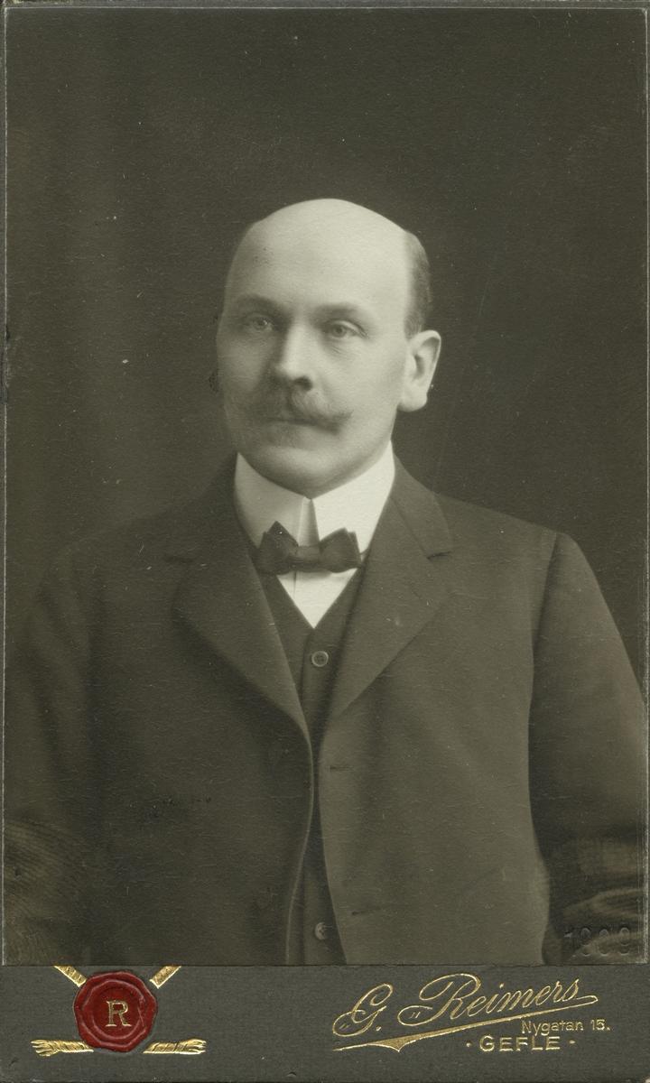 Direktör Arvid Sjöberg. Kassör Direktör A. Ferd. Sjöberg. (Andreas Ferdinand Sjöberg).