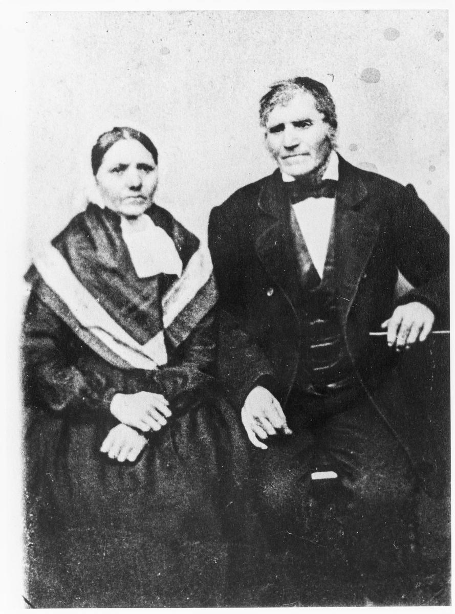 Ludvig Feyling og Malene Simundsdatter Svanes