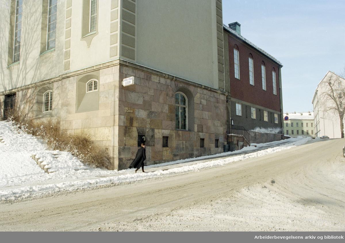 Oslo: Margareta kyrkan. 18. februar 1996