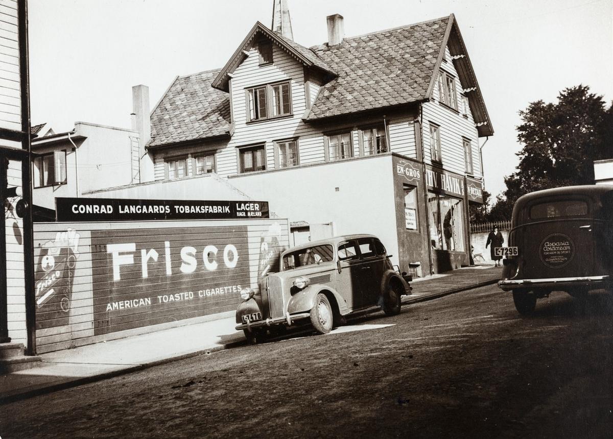 Niels Skorpens gate sett mot nordøst, ca. 1939.