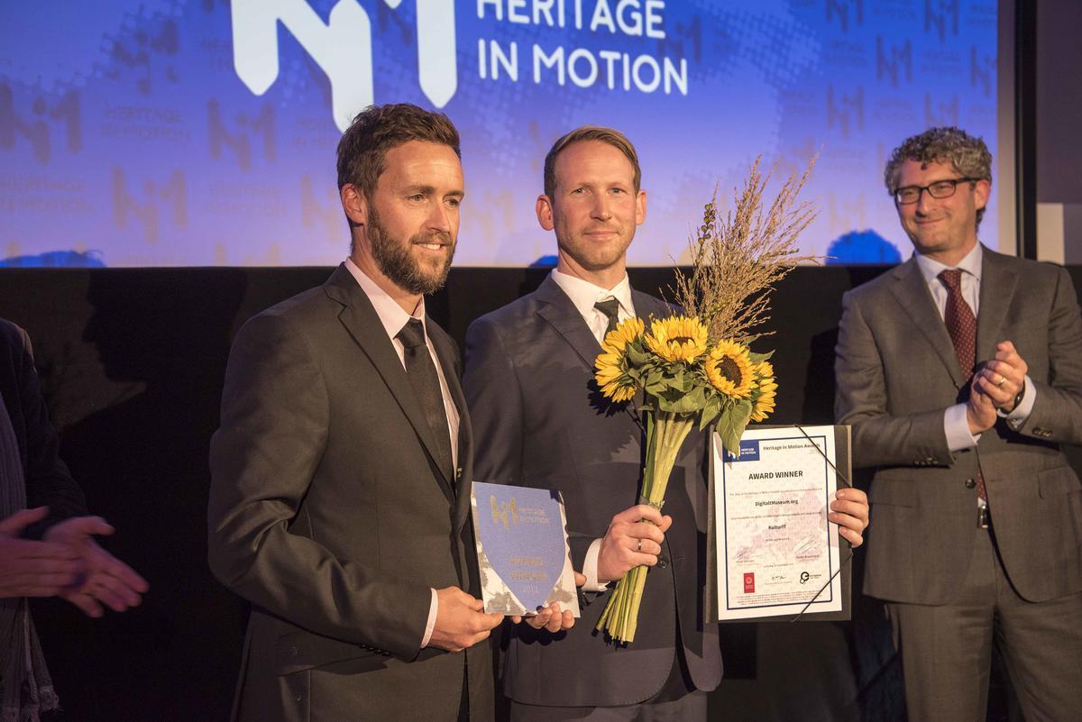 Produktutvikler Jostein Eikanger og produktansvarlig Espen A. Nordenhaug
