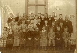 Skulebilde frå Gol i 1880-90