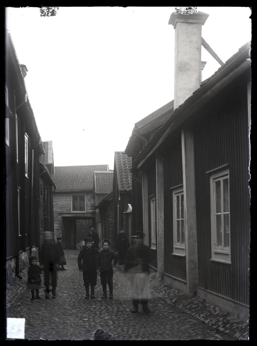 Badhusgatan från norr, Västerås.