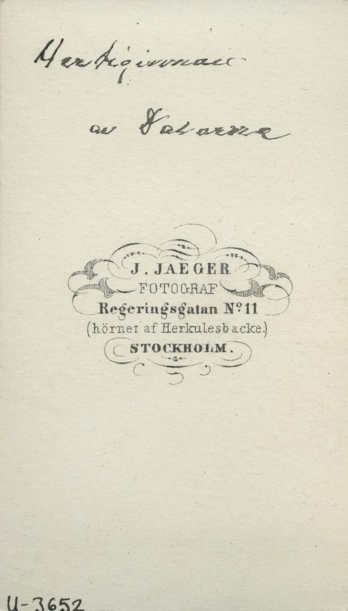 Prinsessan Teresia hertiginna av Dalarna.