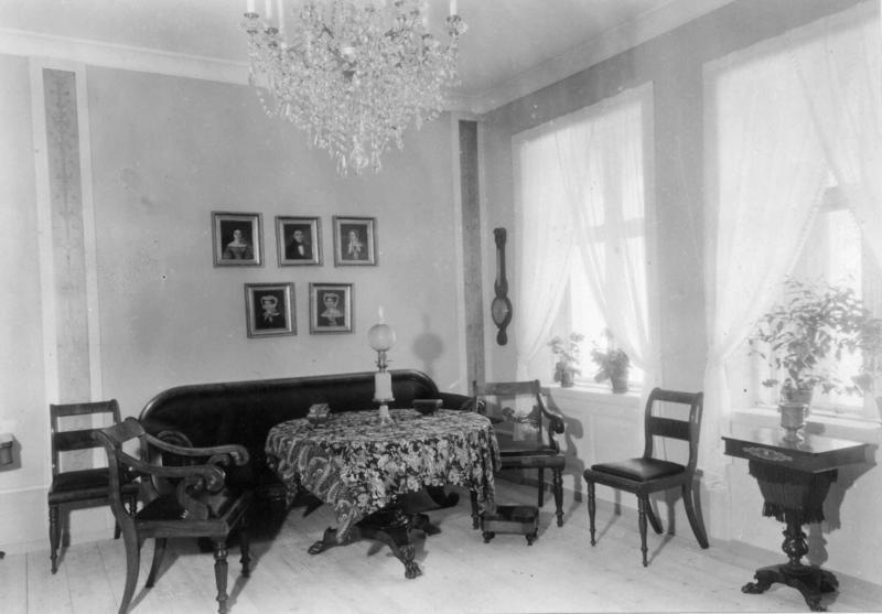 «Werner-rommet» – et av interiørene i Byavdelingen.