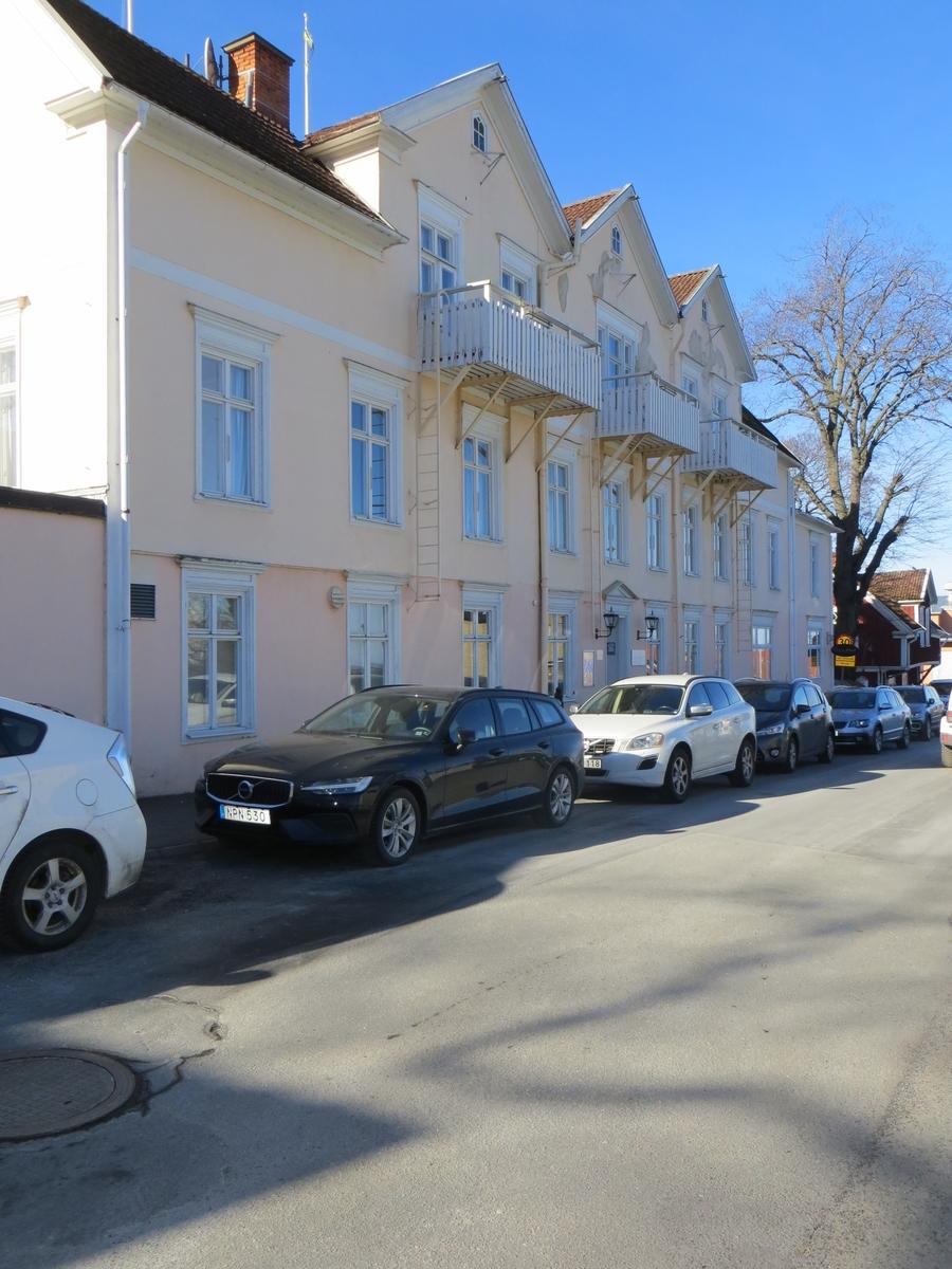 Exteriör, hotellbyggnaden Grenna hotell i Gränna, Jönköpings kommun.