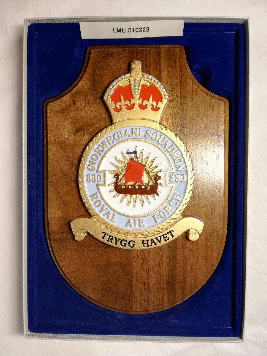 Våpenskjold 330 skv underlagt Royal Airforce under 2. verdenskrig