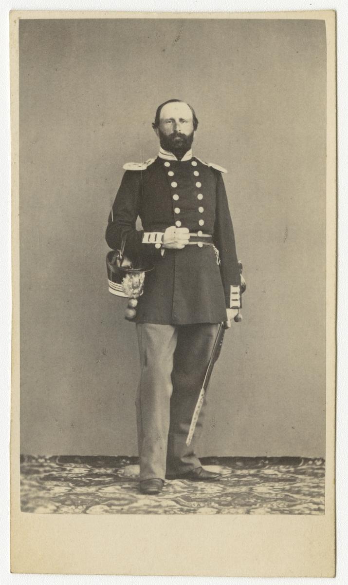 Porträtt av Sven Leonhard Leffler, kapten vid Andra livgrenadjärregementet I 5.