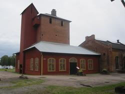 Exteriör, Nya Åminne bruk i Värnamo socken och kommun.