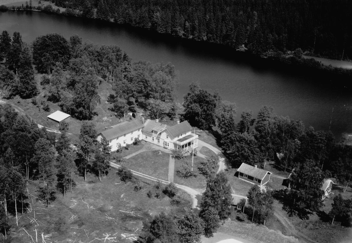 Flygfoto över Solgården i Bor, Jönköpings län. Nr 1083/1961