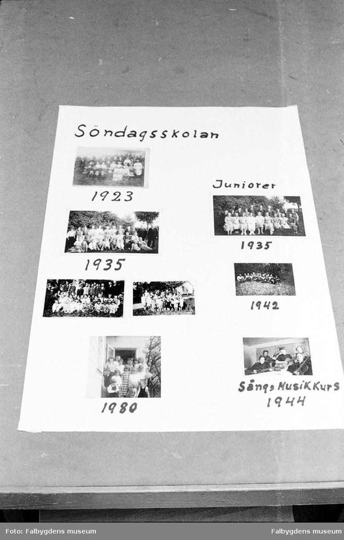 Söndagsskolan, bildkollage. Jäla missionshus EFS.