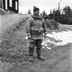 Ragnar Elfström, övermaskinist vid Viforsens kraftverk, demo