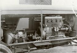 Maskinvagn 23 kW, förbränningsmotor, generator, koppling etc