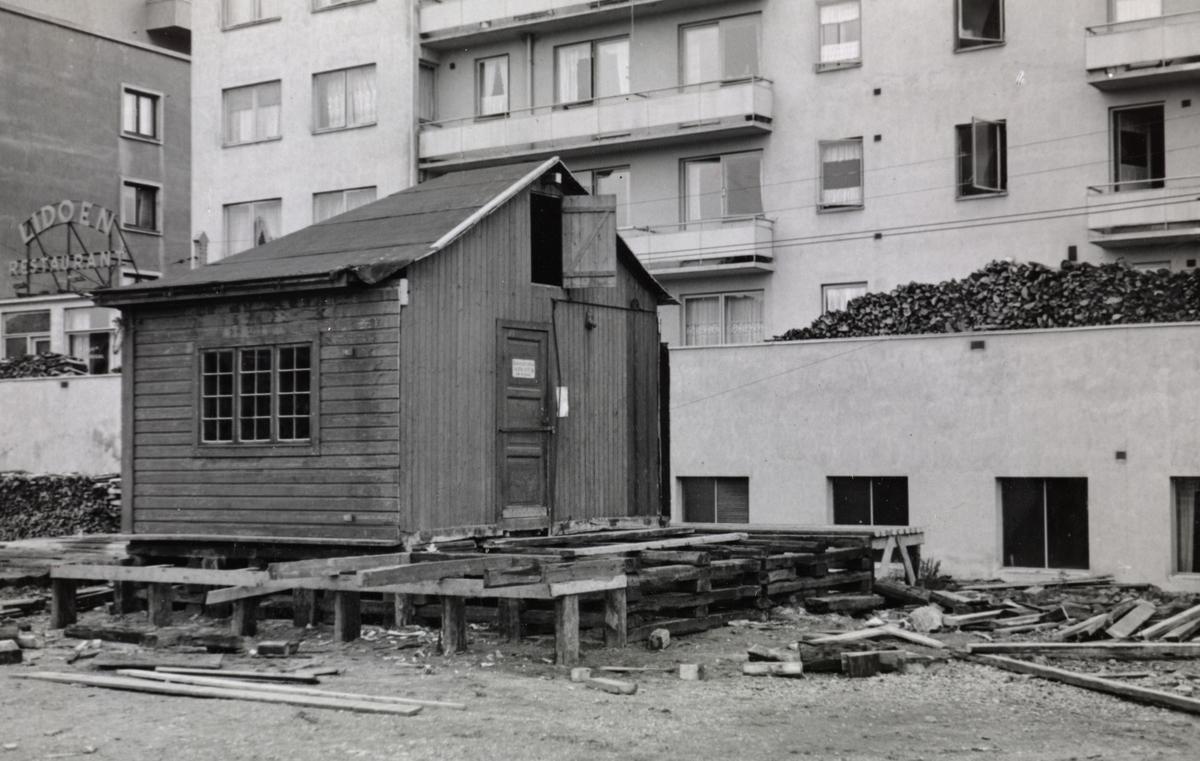 Flytting av godshuset på Majorstuen stasjon