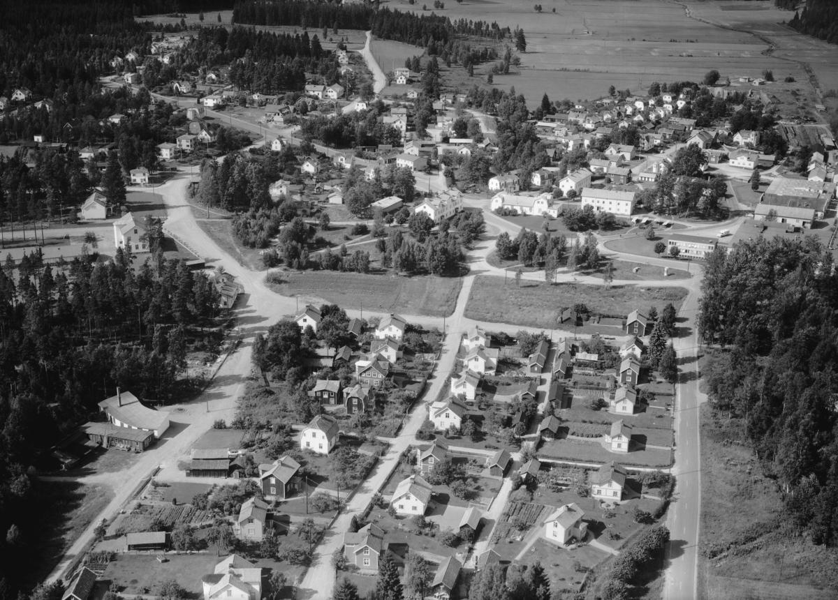 Flygfoto över Smålands Anneberg i Nässjö kommun, Jönköpings län. 1188/1962