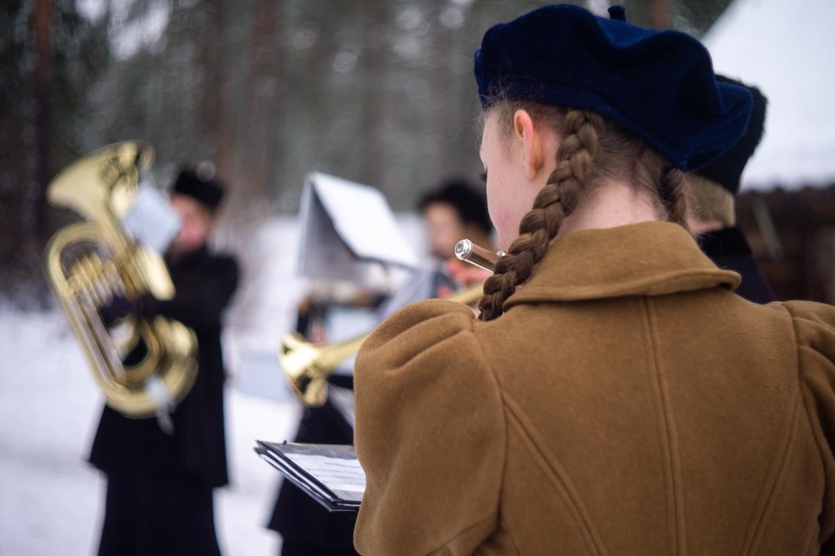 Skolemusikken, Jul i stuene