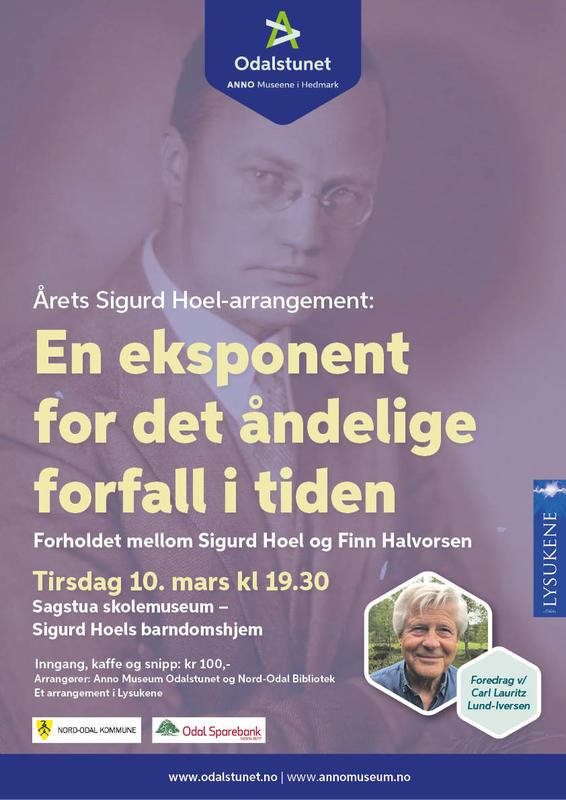 Plakat, Sigurd Hoel-arrangement 2020