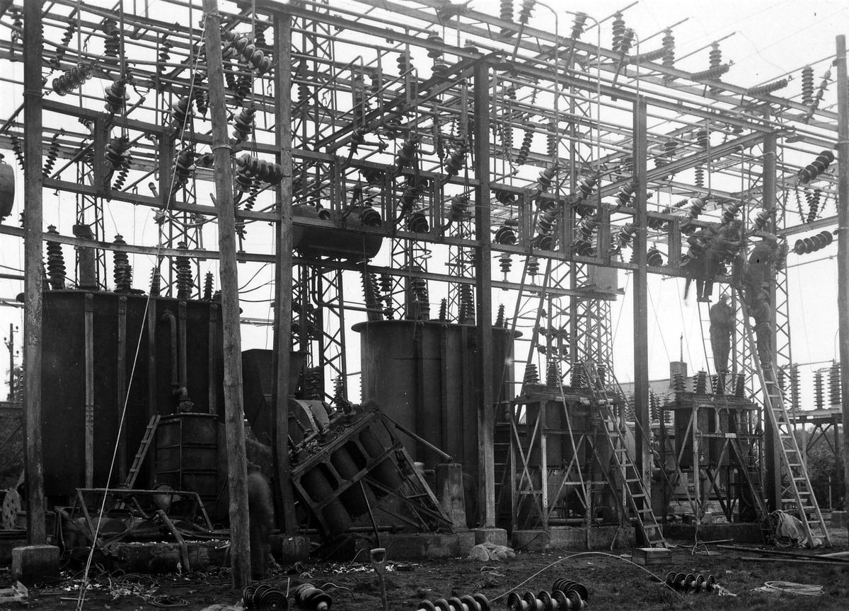 Branden i ställverket, kvarter Gitarren 1934.