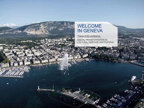 Geneva CODOC 2020 Digital transformation in cultural heritage institutions (Foto/Photo)