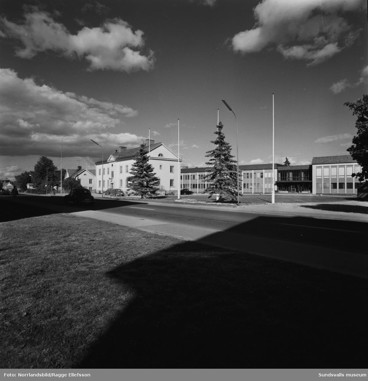 Nya kommunalhuset i Timrå.