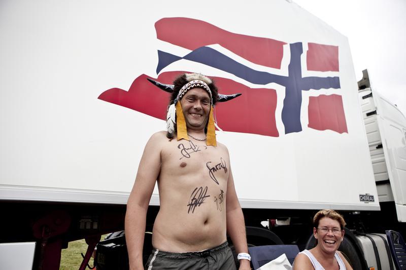 Face 84 fan, Seljord 2009