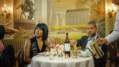 Ragnar Kjartansson, Scenes From Western Culture (Jason Moran and Alicia Hall Moran), 2015. Single channel video with sound 1 hour 40:46 minutes. Edition of 6 plus 2 artist's proofs. Courtesy of the artist, Luhring Augustine, New York and i8 Gallery, Reykjavik.