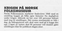 Arbeiderbladet 1995 (Foto/Photo)