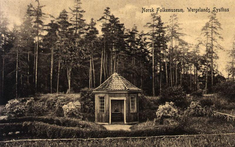 Engelske hage, 1907 (Foto/Photo)