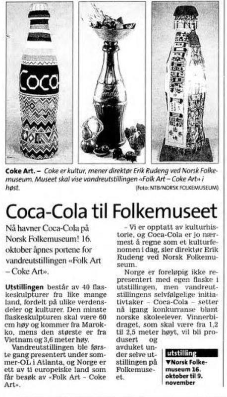 Coke art (Foto/Photo)