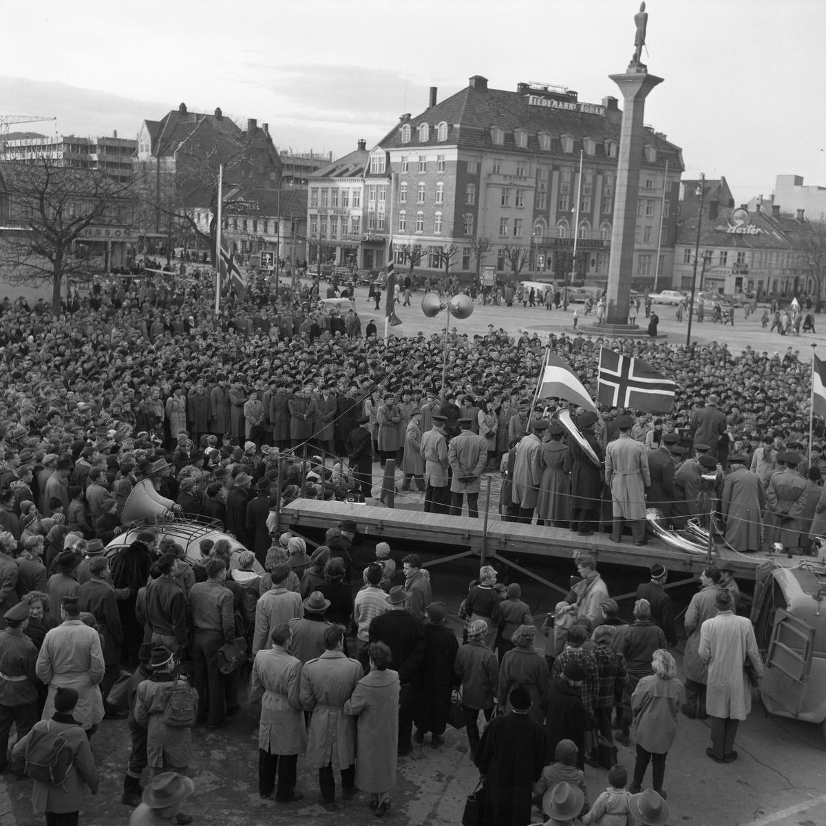 Demonstrasjon for Ungarn
