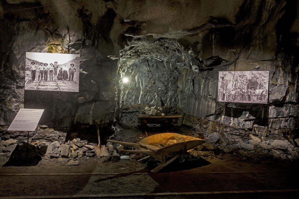 Tunnelen. Foto: Morten Reiten (Foto/Photo)