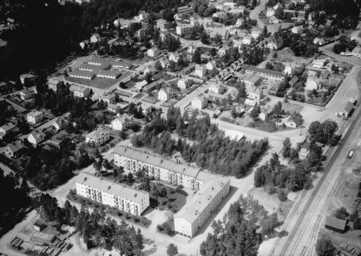 Flygfoto över Mariannelund i Eksjö kommun, Jönköpings län 993/1967